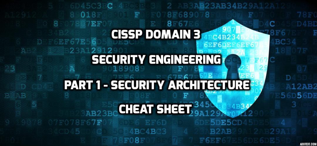 cissp cheat sheet 2016 pdf